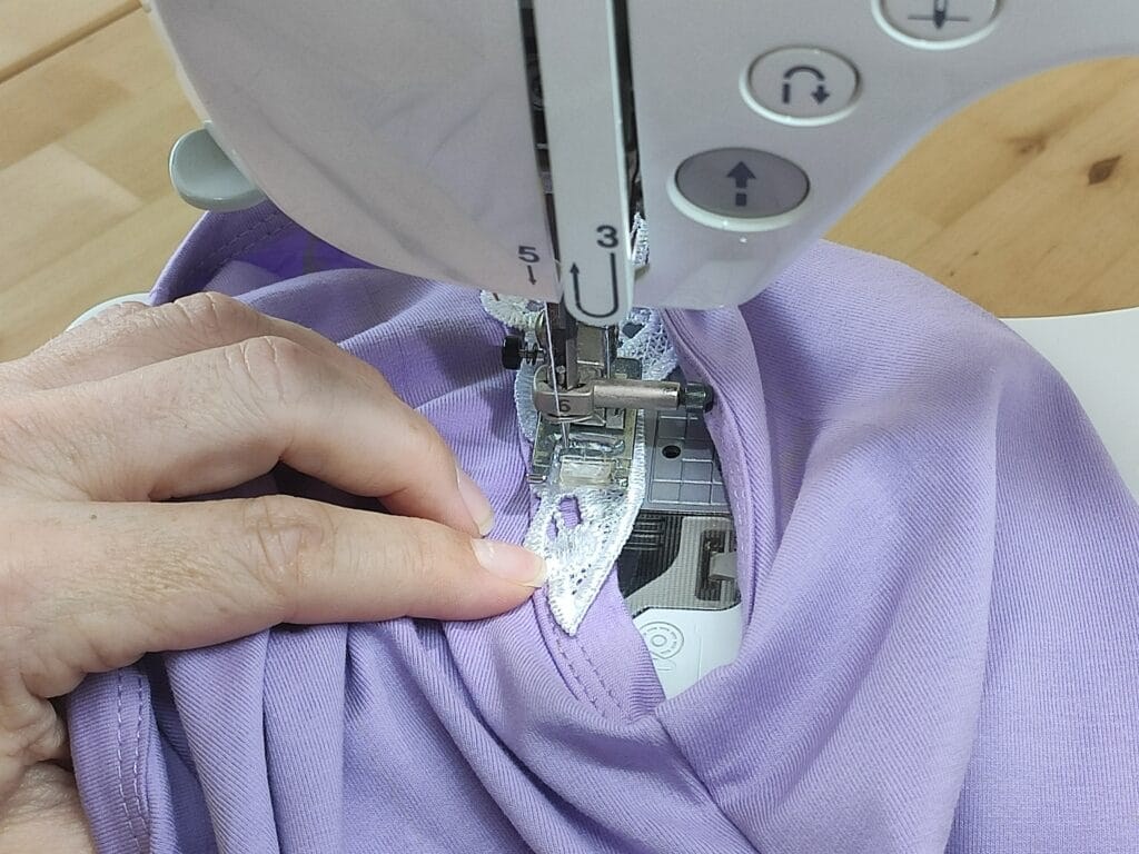 How to Sew angels wing