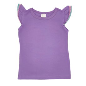Triflutter Top Lavender