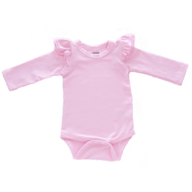 Icy Pink Long Sleeve Fluttersuit1