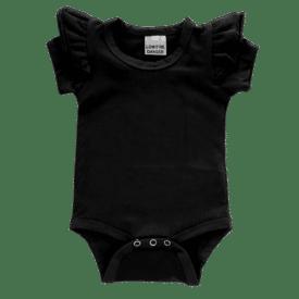 Black Short sleeve Fluttesuit