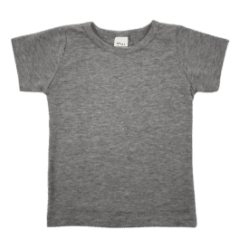 Dark Frosted Grey Basic Tee