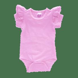Bubblegum Pink short sleeve Fluttersuit