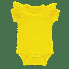 Dark Yellow short sleeve Fluttersuit