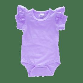 lavender short sleeve fluttersuit