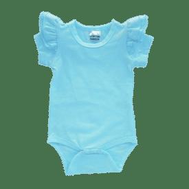Light Blue short sleeve Fluttesuit