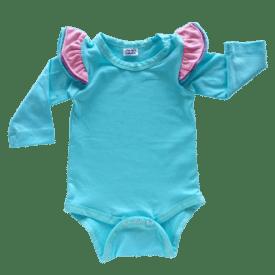 Blue Tri Fluttersuit