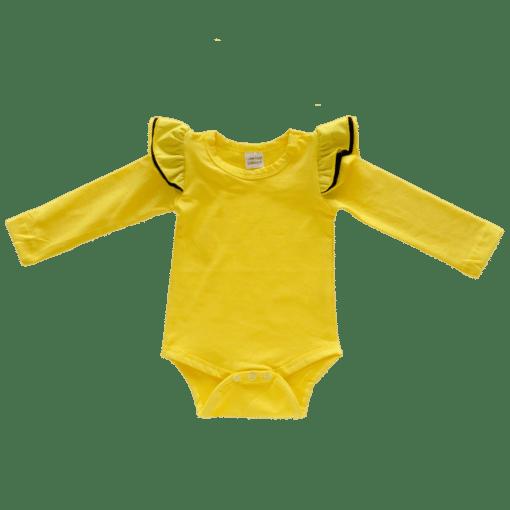 Dark Yellow Tri Fluttersuit